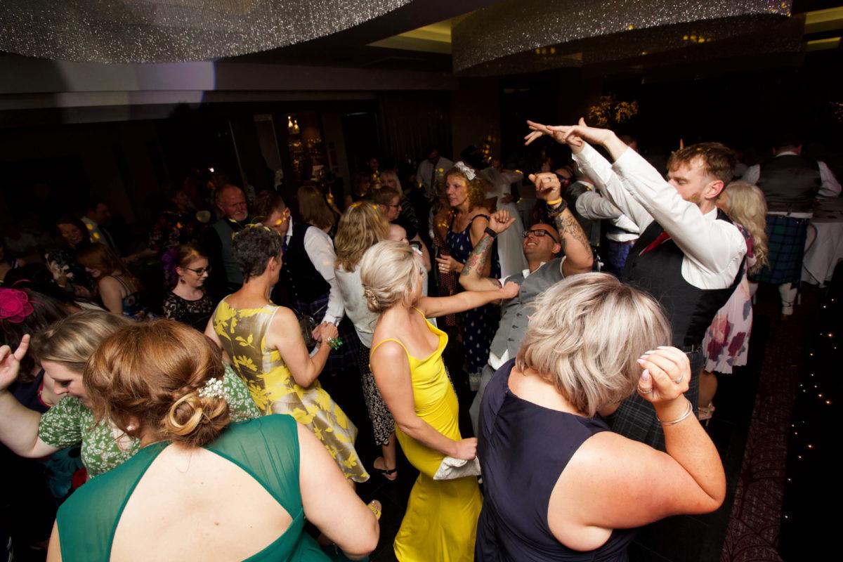 Hetland Hall Wedding Party