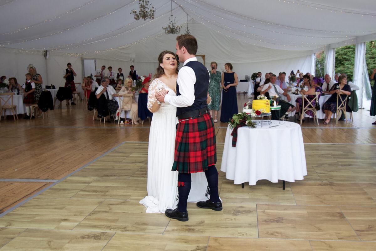 Dalswinton Wedding Dumfries DJ