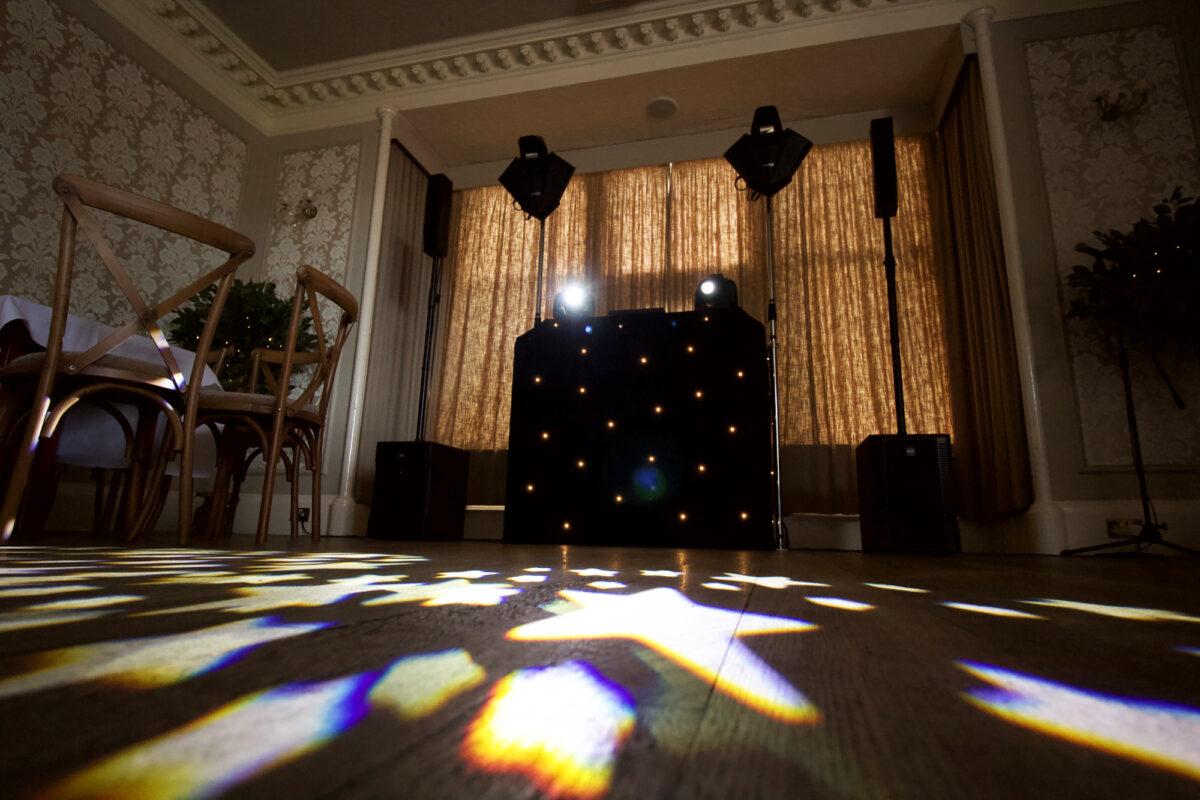 Wedding Disco Setup