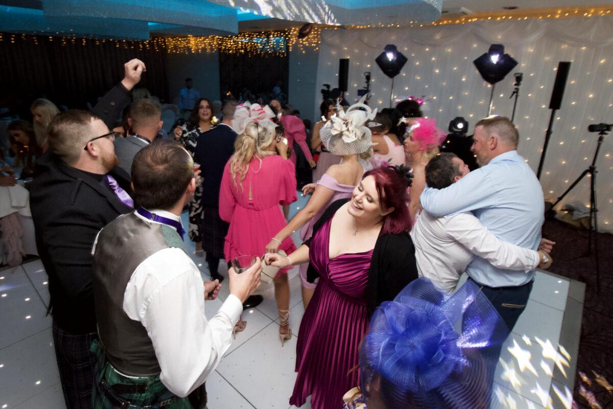 Dancing at Hetland Wedding